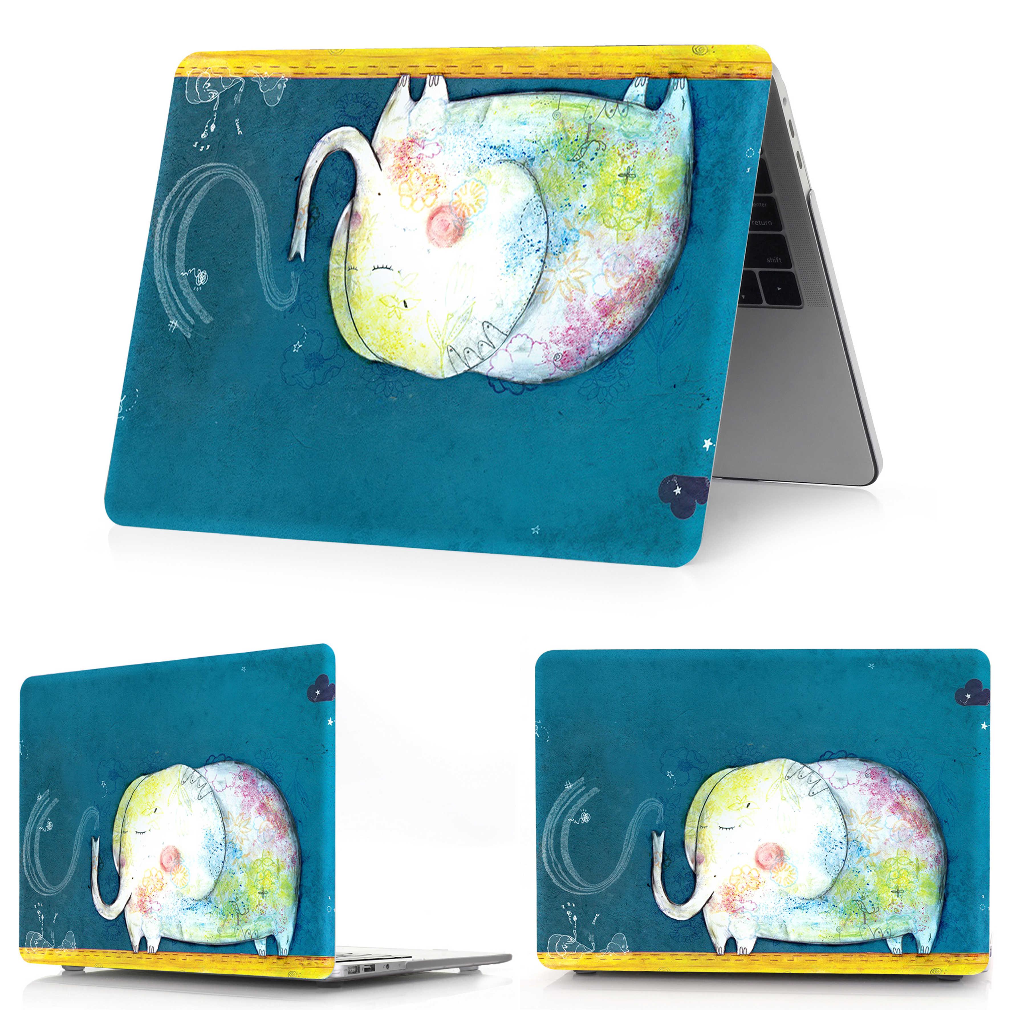 Hot pictures étui pour ordinateur portable pour Apple Mac Book Air Pro Retina 11 12 13 15, couverture pour Mac 2018 New Air 13 Pro 13 15 pouces tablette tactile ID
