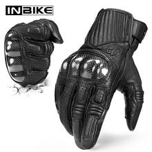 Inbike luvas da motocicleta motocross tela sensível ao toque à prova de choque guantes moto respirável luvas durante toda a temporada