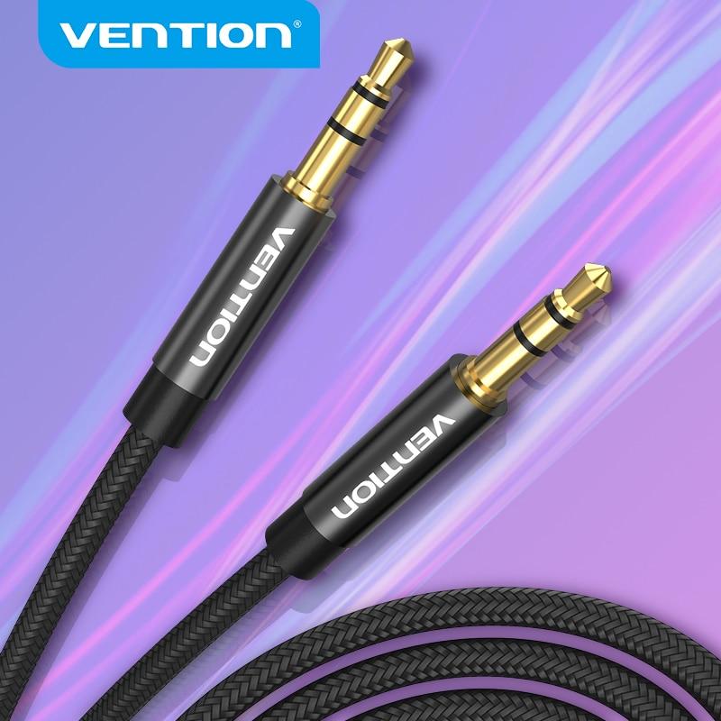 Vention 3,5 мм аудио кабель Jack 3,5 папа-папа аудио AUX кабель для iPhone 6 автомобиля Samsung S8 наушники Динамик провод Aux шнур