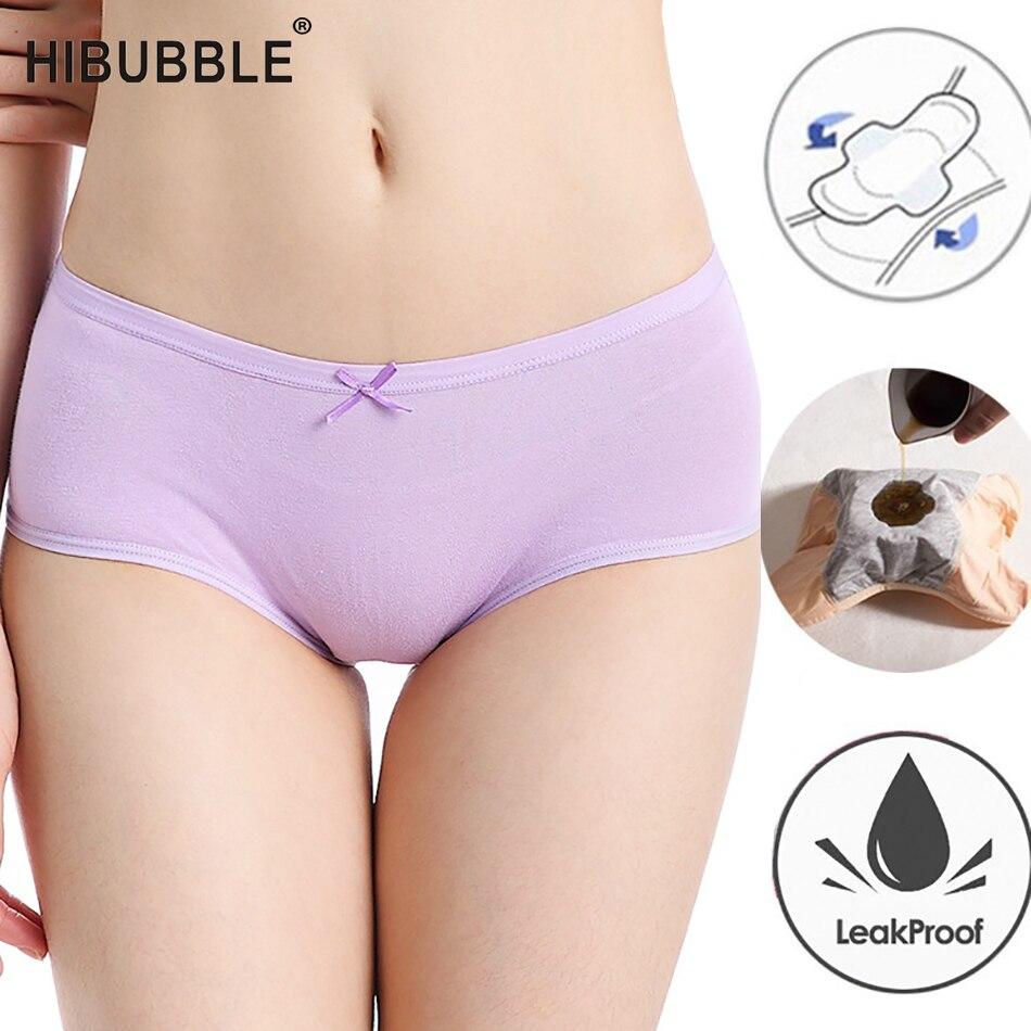 2019 Menstrual Underwear Women Leak-proof Period Panties Hysiological Pants Culotte Femme Menstrual Briefs Cotton Breathable