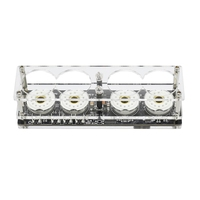New 4 Bit Integrated Glow Tube Clock QS30 1, SZ 8 Clock with Acrylic Case ,Without Glow Tubes