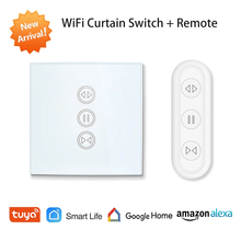 Curtain-Switch Shutter Wifi Roller Tuya Remote-Control Motorized Blinds Echo Electric