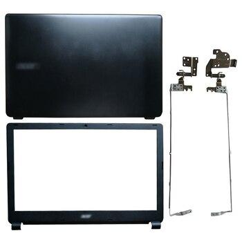 Cubierta trasera LCD para portátil/bisel frontal LCD/bisagras LCD para Acer Aspire E1-510...