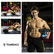 TOMSHOO Muscle Training Sit Up Bars Stand Abdominal Core Total Crunch Fitness Equipment Home Gym Self-Suction Assist Bar