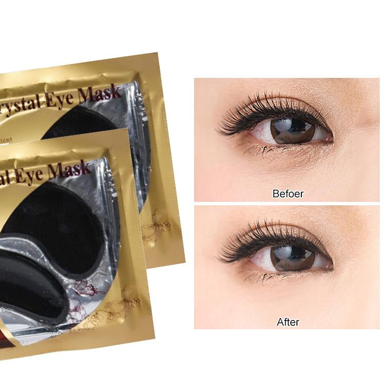 Women Collagen Eye Mask Whitening Lighten Spots Lasting Moisturizing Anti-Wrinkle Anti-Ageing Under Gel Patch Facial Care