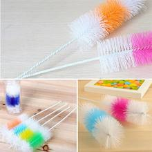 1 pc Creative Bottle Brush For Baby Bottles Scrubbing Cleaning Tool Kitchen Cleaner For Washing Cleaning Brand Pacifier Brush(China)