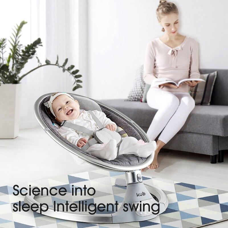 Baby Electric Rocking Chair Baby Cradle Chair Artifact Sleepy Newborn Comfort Chair Shake Sound Shake Shaker