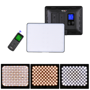Image 2 - Viltrox VL 200T אלחוטי שליטה דו צבע Dimmable LED וידאו אור לוח 3300K 5600K 192 חרוזים canon Nikon Sony DSLR מצלמה