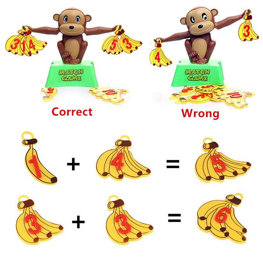 קוף מאזניים - משחק ילדים ללימוד חשבון ומספרים 2
