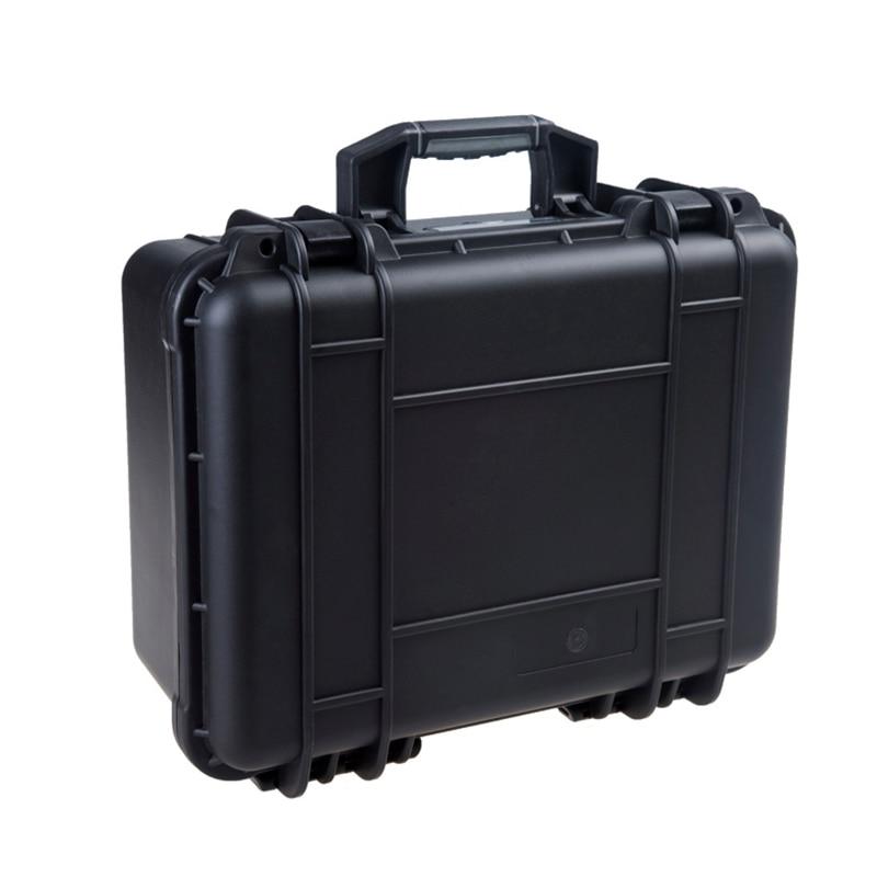 waterproof Tool case toolbox suitcase Impact resistant sealed plastic case equipment camera case Meter box with pre-cut foam
