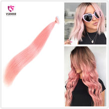 VSR Tape In 100% Pure Remy Human hair For Salon Sample 5pcs 10pcs For Testing 2.0g/pc Seamless Skin Weft hair extension(China)