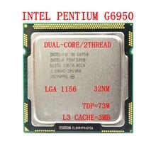Intel Pentium Dual-Core G6950 Dual-Core CPU 2.8GHz L3=3M 73W LGA 1156 Desktop Office Processor