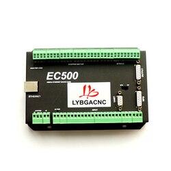 Karta kontrolna Mach3 Ethernet EC500 CNC router 3/4/5/6 karta sterowania ruchem osi 460kHz tabliczka zaciskowa cnc części