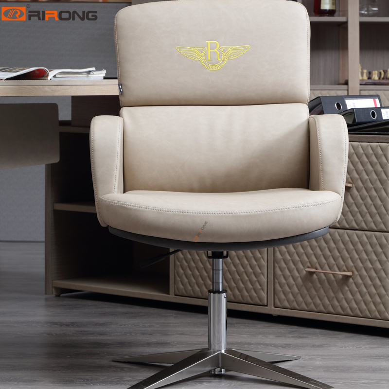 Elegant Italy Design Luxury Home Office Furniture Executive Boss Lady Ergonomics Leather Office Chair Armchair With Wheel Office Chairs Aliexpress