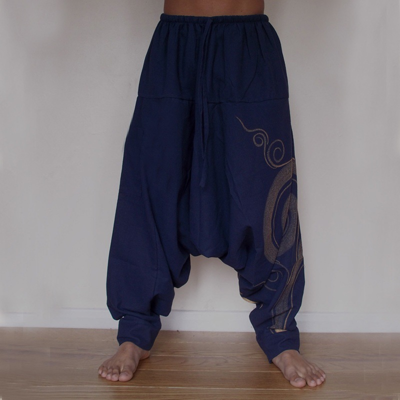 Shujin Harem Pants Desert-Trousers Mens Baggy Clothing Male Casual Fashion New Boho Loose