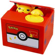 Piggy-Bank Electronic-Money-Box Pokemon-Pikachu for Kids Friend Birthday Christmas-Gift