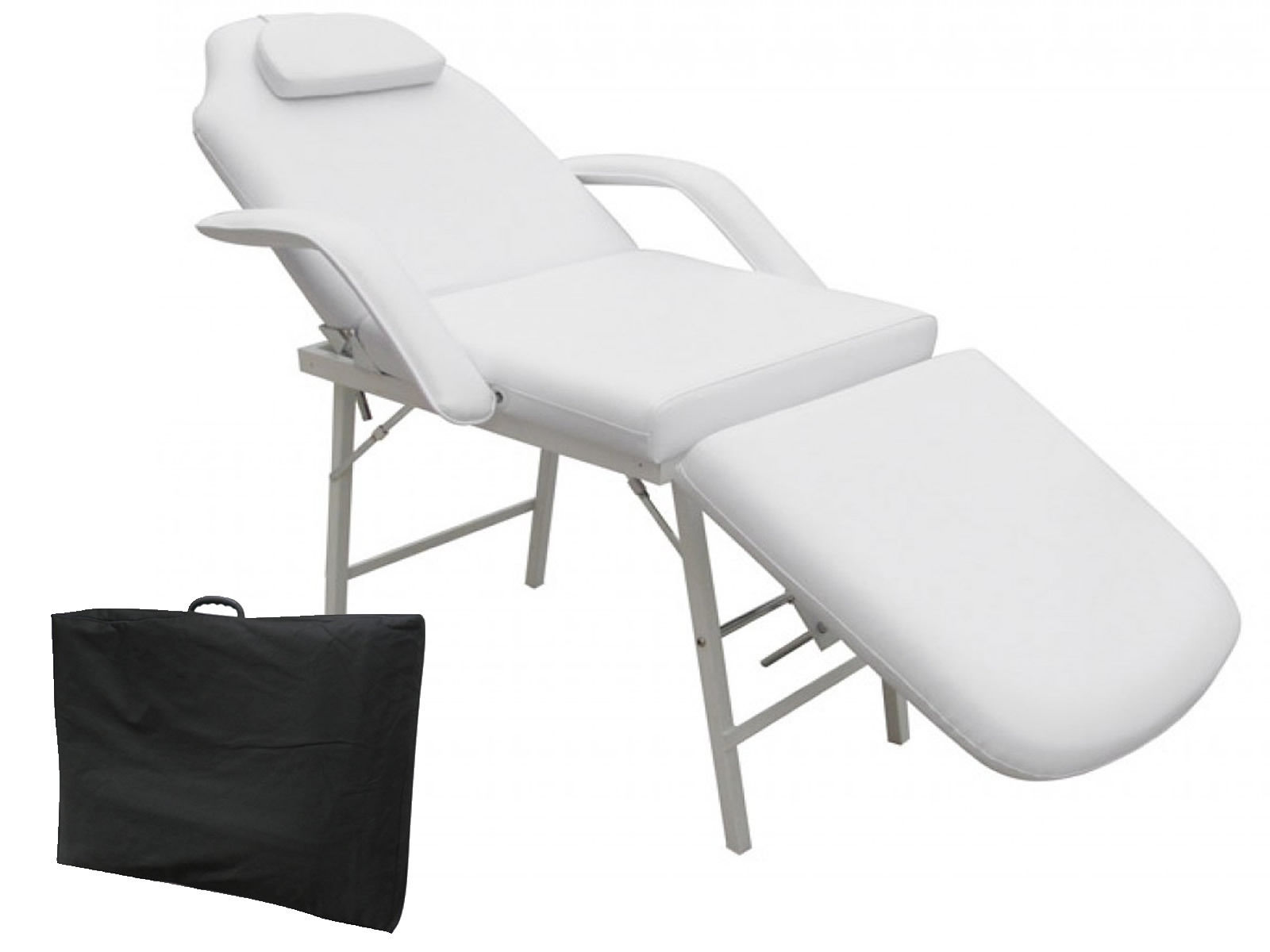 Costway 73'' Portable Tattoo Parlor Spa Salon Facial Bed Beauty Massage Table Chair