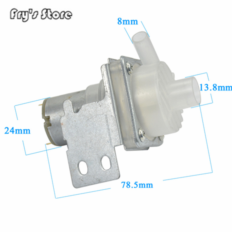 Fry's Store Wholesale Price Water Dispenser Electric Open Bottle Kettle Water Pump DC6-12V Pumping Motor Left/Right Pumps