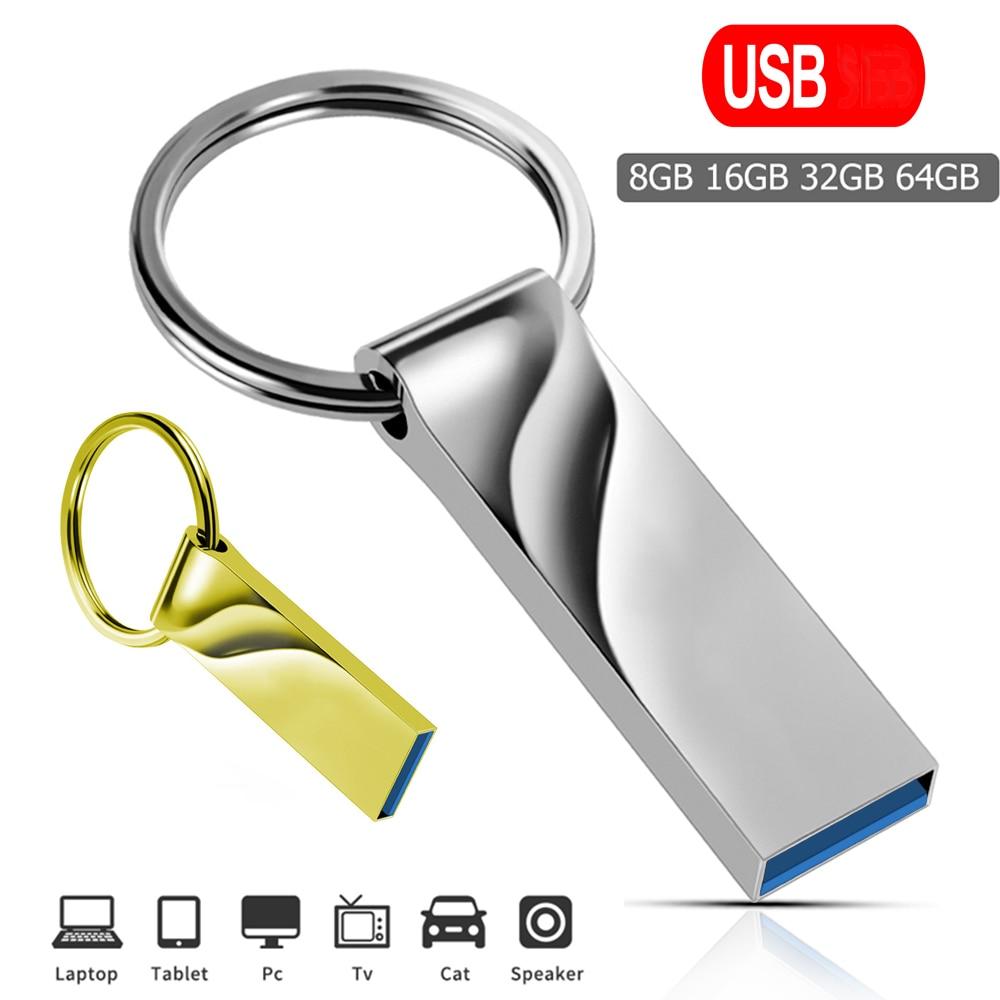 High Speed Pen Drive 64GB Pendrive 128GB Flash USB Stick 32GB