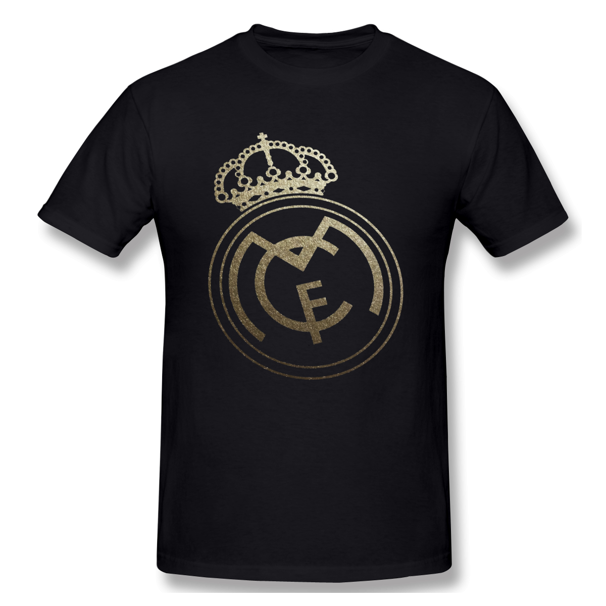 Yellow Real Madrided Sign Funny T-Shirt Men Women Summer O Neck Casual Cotton T Shirt Graphic Tee Crew Neck Top