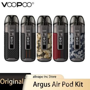 Kit d'origine de dosette d'air VOOPOO Argus Kit de Vape 25W 900mAh avec bobines PnP système de dosette E Cigarette type-c 3.8ml vaporisateur de cartouche de dosette