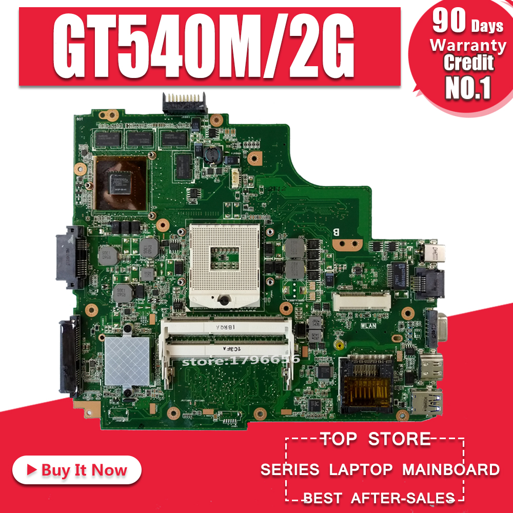 K43SV Motherboard 2GB-GTX540M For ASUS A43S X43S K43S A43SJ K43SV Laptop Motherboard K43SV Mainboard K43SV Motherboard