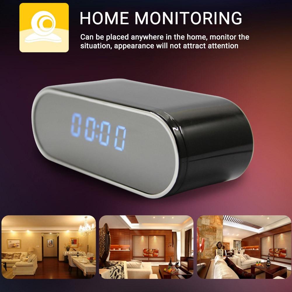 HD Clock Camera Wireless