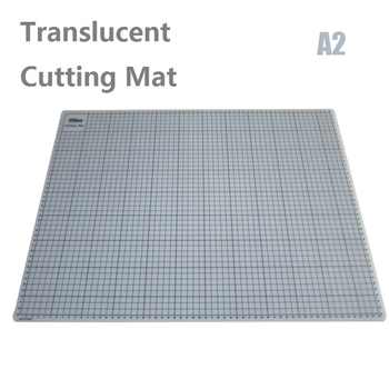 A2 Translucent Cutting Mat With Grid Lines Gridded Cutting Mat Esteira de Corte 60x45cm