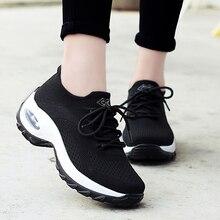 Женская обувь для тенниса Tenis Feminino, дышащая Спортивная обувь для занятий спортом, удобные кроссовки, Zapatos De Mujer, Новинка осени 2019
