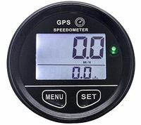 52mm GPS Speedometer Gauge Odometer Meter Digital Dash 12v 24v Mph Kmh for Motorcycle Car Truck Boat Marine Backlight