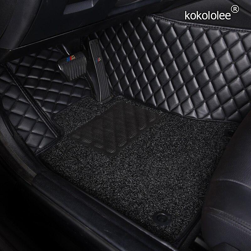 Автомобильные коврики на заказ для Volkswagen, все модели vw passat polo golf tiguan EOS jetta touran touareg, автомобильные стильные коврики для ног