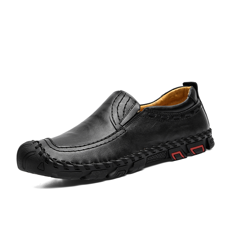 Men 39 s Casual Shoes Comfortable man Loafers Leather Shoes Quality Handmade Mens Flats Mocassin Homme Big size 38 46 in Men 39 s Casual Shoes from Shoes