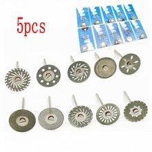Mandrel Polishing-Tools Diamond-Disc Sand-Porcelain Dentistry Double-Sided Ultra-Thin