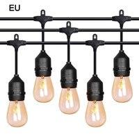 Oferta 24V 10LED al aire libre impermeable comercial grado Patio globo cadena bombillas para la decoración del