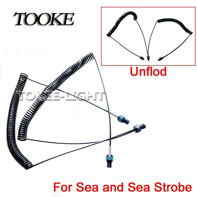 TOOKE 光纤线 1拖2 SEA&SEA TF109BKB 238元