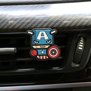 Image 4 - קריקטורה מטהר אוויר בושם רכב מפזר ריח רכב פנים אביזרי מיזוג אוויר לשקע אופנה מגניב