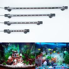 Lumière d'aquarium LED étanche Aquarium lumière sous-marine poisson lampe Aquariums décor éclairage plante lampe 18-48CM 220-240V 5730 puce