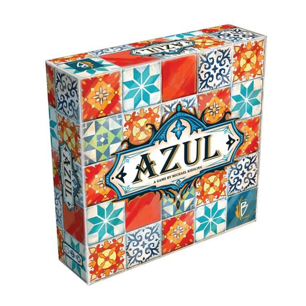 Classic Azul Board Game First Edition 2-4 Players English Version Classical Puzzled Game For Family Kids Boy Girl Toy