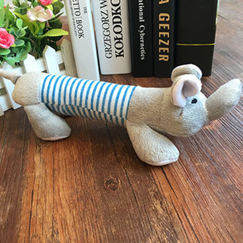 2019 New Popular Pet Funny Fleece Toy Durable Plush Dog Toys Squeak Chew Sound Toy Fit For All Pets Elephant Duck Pig Plush Toys in Movies TV from Toys Hobbies
