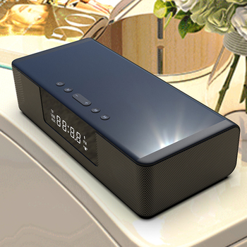 Wireless Charger 10W Bluetooth Speaker TV Home Theater Speaker Stereo Surround Sound Remote Control LED Smart Display Speaker