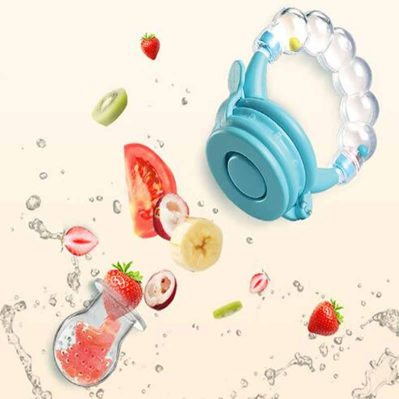 Baby pacifier food feeder child pacifier feeding safety baby supplies baby bell toy bottle feeding tool