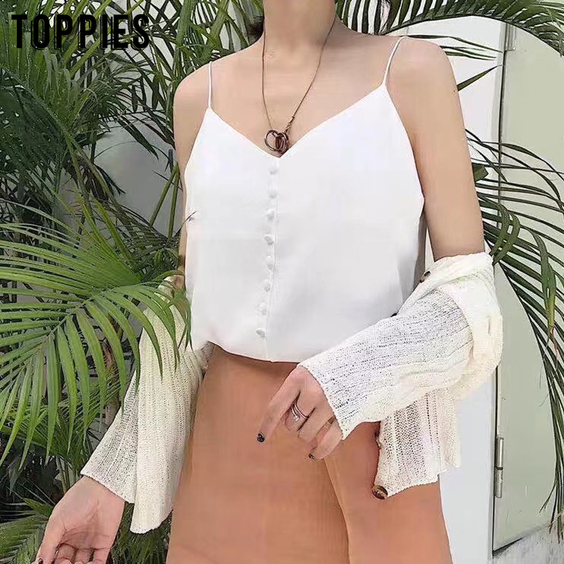 summer camisoles sexy crop tops korean fashion girls tops women sleeveless tank solid color
