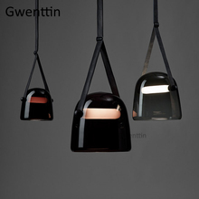 Modern Mona Glass Pendant Lights Led Belt Hanging Lamp for Living Room Bedroom Kitchen Fixtures Suspension Luminaire Home Decor delinda n baker in search of truth 31 day devotional