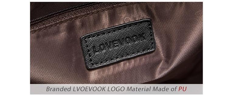 Lovevook bolsa definir bolsas femininas ombro crossbody