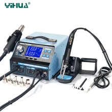 YIHUA 992DA+ Soldering Station Hot Air Gun Rework Soldering Iron Station BGA Repair Board Rework Station Soldering 110V and 220V(China)
