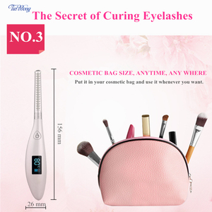 Image 4 - Tinwong Electric Eyelash Curler USB Rechargeable Ceramic Inner Core Heated Long Lasting