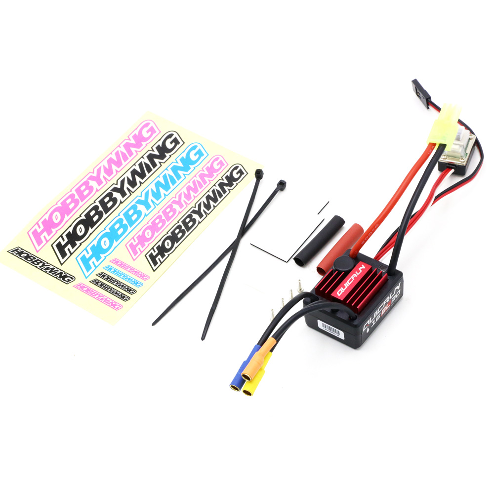 Image 5 - 100% Original Hobbywing QuicRun 16BL30 30A Brushless ESC For 1/16 On road / Off road / Buggy /Monster RC Carhobbywing quicrun30a brushless escbrushless esc -