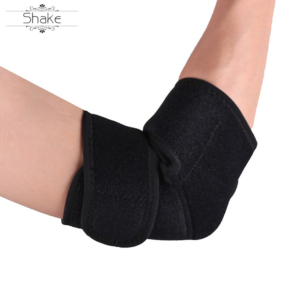 HEHE Wholesale Elbow Brace Protective Pads Treatment For Tennis Elbow Elastic Elbow Support For GYM