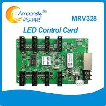 NOVA MRV328 เปลี่ยน MRV308 จอแสดงผล LED รับการ์ดสี LED จอแสดงผล P3,P4,P5,p6,P8,P10 hub75 การ์ดควบคุม