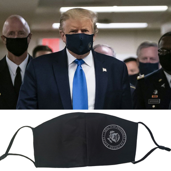Trump United States election PM2.5 Cotton Anti Haze Mask Breath dust Pollution Mouth face Mask Filter Respirator Washable jerusalem israel united states embassy trump challenge coin dedicated may 14 2018
